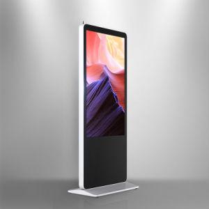 55-дюймовый Ls1000cms Тотем Upstand цифровой ЖК-дисплей баннер с Content Management System