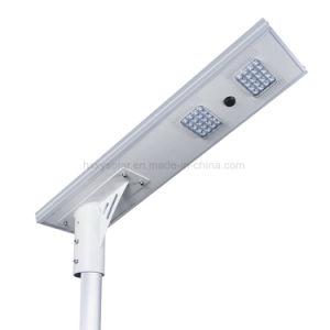 Integrado al aire libre en una sola calle luz LED Solar