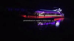 67FT deux parti de luxe en fibre de verre Pont de bateau à passagers de mariage