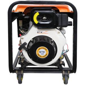 Novo tipo de gerador de soldador Diesel para negociação (2.5/4.6KW)