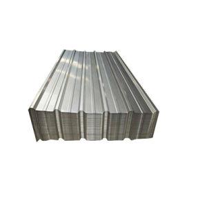 Galvanisé à chaud longue étendue de tôle en acier de toiture