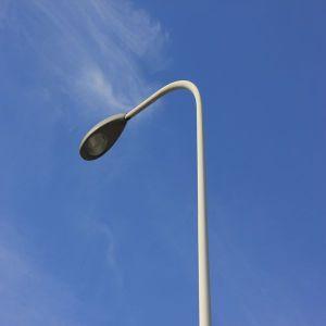 Galvanizado en caliente de alta calidad de la calle polo de iluminación decorativa