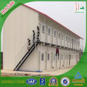 Estructura de acero de la luz de montaje rápido para casas prefabricadas de lujo para la construcción de los alojamientos