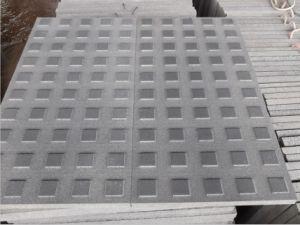 Черный базальтовой лавы и камня проложить для использования вне помещений Строительство