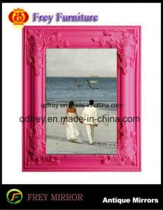 装飾的な高品質の木映像か写真フレーム