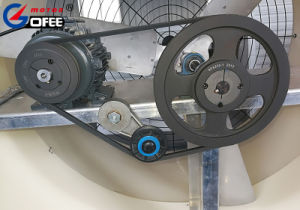 Gofee 51 дюймов и больше энергии фермы из стекловолокна для настенного монтажа корпуса вентилятора системы охлаждения