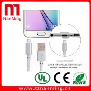 Micro USB a cabo cobrando trançado do USB do nylon do cabo 2.0 do USB para o Android