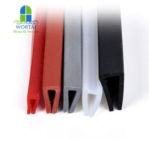 Fabricante China de caucho de silicona resistente al agua tira de sellado de la Puerta de ducha
