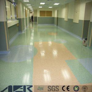 反ヨウ素に床を張る反細菌の病院の等級PVCビニール