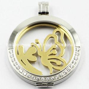 Hot médaillon Pendentif en acier inoxydable de vente de bijoux de mode