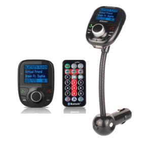 Kit para coche Bluetooth el transmisor de FM& doble USB Cargador de coche