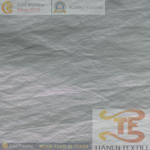 20d Wrinkle tafetán de Nylon tejido con estampado de prendas de oro