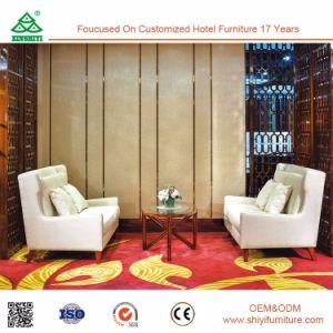 椅子が付いているホテルのレストランの純木のダイニングテーブルのための一定の新しいデザイン贅沢な家具の食事