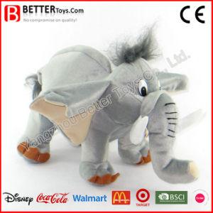 Giocattolo molle dell'animale farcito della peluche dell'elefante di alta qualità En71