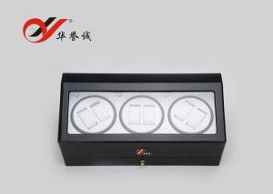 1つの引出しの黒い鋼鉄ペンキの腕時計の巻取り機ボックス