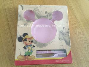 Don caricature de fibre de blé de la plaque d'enfants de la vaisselle no NW002