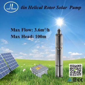 1000W 4pol bomba DC Solar, Submersíveis Sistema da Bomba de irrigação de água