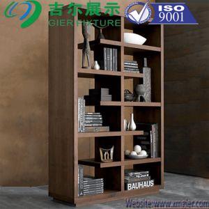 Socle en bois massif Rack Book Display (CYP-029)
