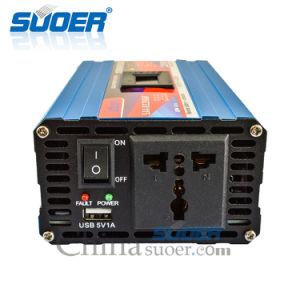 Suoer 1200W 12V 230V de onda sinusoidal modificada inteligente Inversor de potencia (SAA-D1200AF).