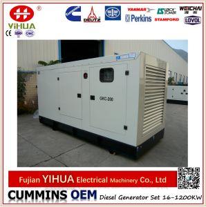 Электрический генератор Cummins новой конструкции звукоизоляционный тепловозный с ATS