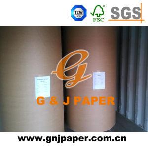 Offset sem revestimento branco de alta Pritning embaladas em rolo de papel