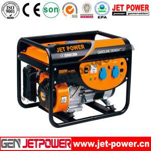 4.5kwガソリン機関の発電機5kwの携帯用ガソリン発電機
