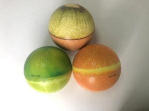 Espuma de PU Subida lenta da esfera de frutos tipo esfera Squish para liberar o stress