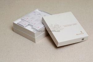 Cajón de cosméticos estilo rígido de cartón de papel caja de embalaje de regalo