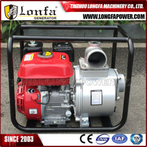 3 дюйма (80 мм) ручного запуска Air-Cooled бензин/водяного насоса бензинового двигателя