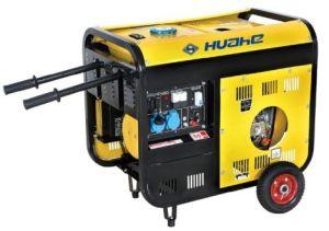 Os geradores a diesel portátil com Pneus (2GF-5GF-LH01)