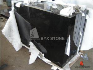 FlooringおよびWallのための磨かれたAbsolute Black Granite Stone Tile
