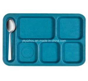 Plateau de compartiment / Plastique bac / bac d'aliments de collation