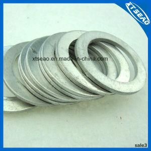 Rondelle plate en laiton de cuivre aluminium