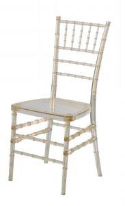 결혼식을%s 방석을%s 가진 PC 수지 Chiavari 백색 의자