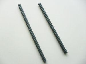 filo d'acciaio rivestito a resina epossidica di 12.7mm per calcestruzzo sottoposto a post-tensionamento