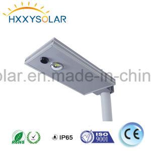 Энергии для использования вне помещений света Интегрированные светодиодные лампы солнечной улице 10W