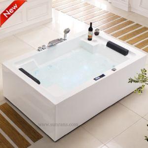 Портативный классический массаж джакузи акриловый ванна-душ в ванной (SF5A005)