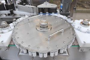 자동적인 회전하는 자동 접착 종이 레테르를 붙이는 기계장치