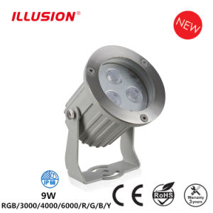 IP68 RGB LED ландшафт в Саду фонаря направленного света с полюса