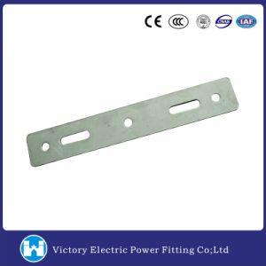Power Link accesorios galvanizados en el armado de Doble placa para el hardware de la línea de polos