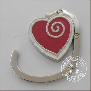 Anello d'attaccatura del sacco di figura del cuore, gancio del sacco (GZHY-BHR-067)