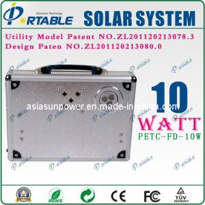 beweglicher Solar Energy Generator des Systems-10W (PETC-FD-10W)