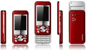 quad band deslize o telefone móvel com TV, Java, Duplo SIM (K820)
