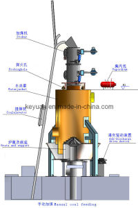 Carvão Single-Stage Gasifier