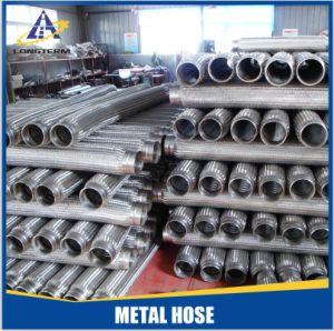 De golf Gevlechte Flex MetaalSlang van het Roestvrij staal