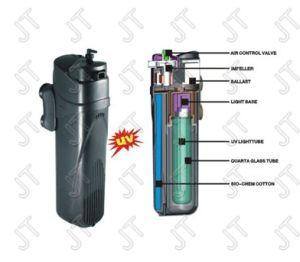 Pompe de Filtration UV (JUP-01/02) pour aquarium