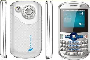 QWERTY Handy S6+ Fernsehapparat-3 SIM