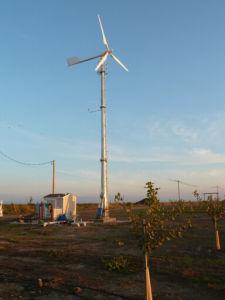 generatore di vento gestito passo 5kw per uso dell'azienda agricola o della casa