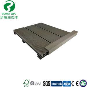 De ronde Vloer van Composited Decking van het Gat Houten Plastic