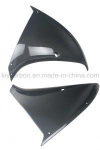 La fibra de carbono Moto parte de los paneles laterales para YAMAHA R1 09-10